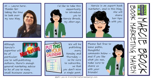 Intro to Marcie Brock, Book Marketing Maven