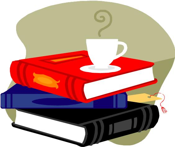 Image of books and coffee