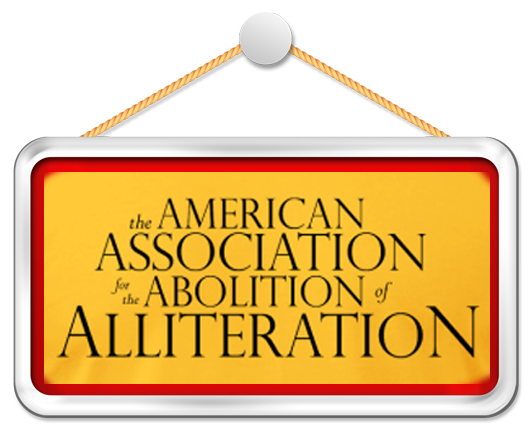 All about the alliteration… » alliteration