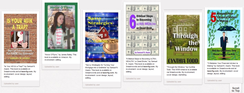Winter Author Blog Challenge #5: Nine ways authors can Pin for success (2/5)