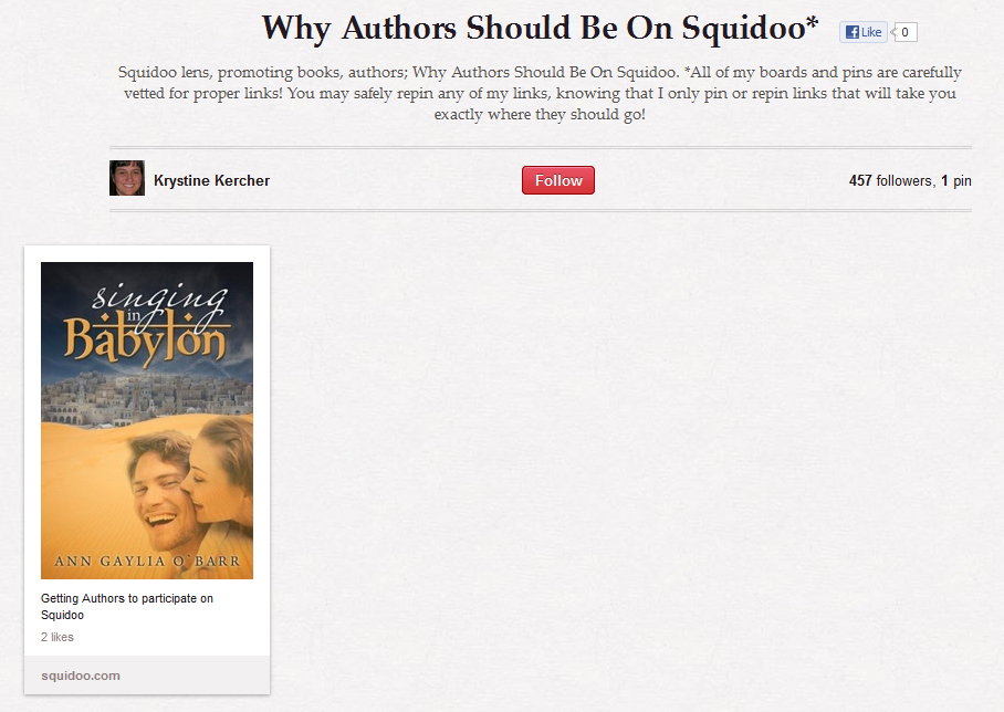 Winter Author Blog Challenge #11: Tips for bringing your Squidoo author lens ALIVE (2/3)