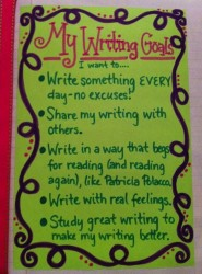 writing goals 2