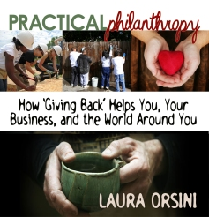 """Practical Philanthropy"" book cover"
