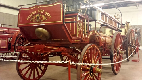 Hall of Flame classic fire _truck_