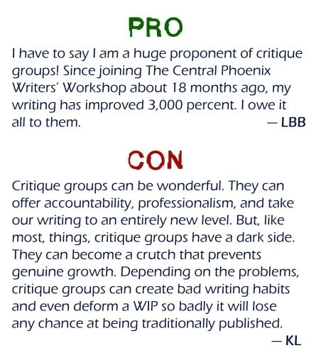critique pro con
