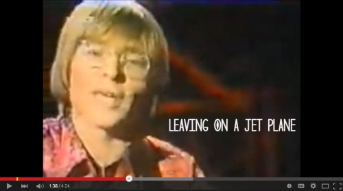 songs - leaving on a jet plane