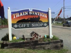 train station gift shop