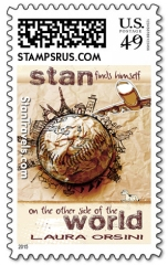 Stan cover stamp